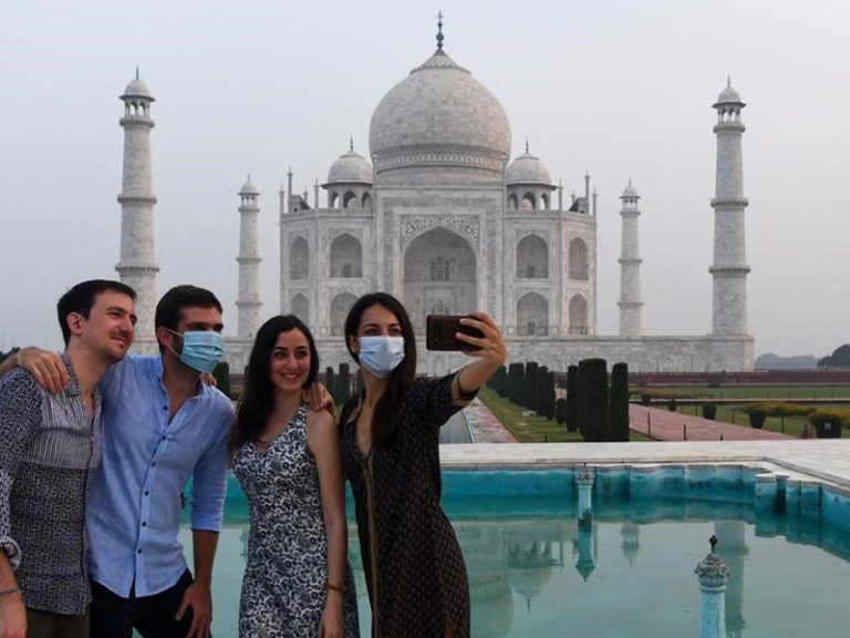 India's Taj Mahal reopens as new infections slow