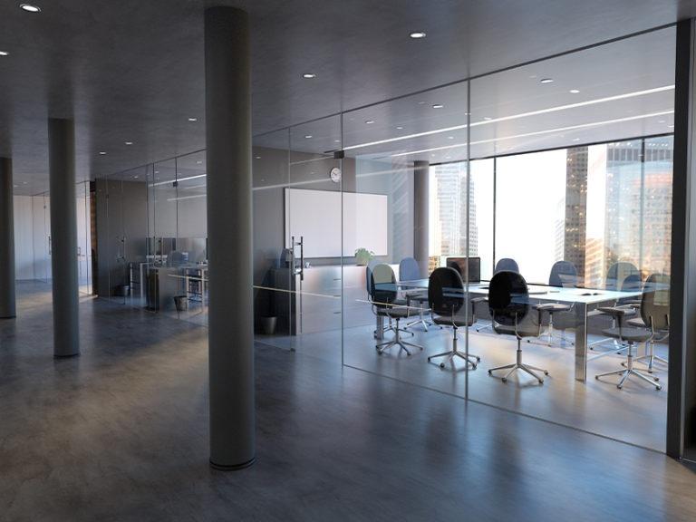 Offices after COVID: Wider hallways, fewer desks