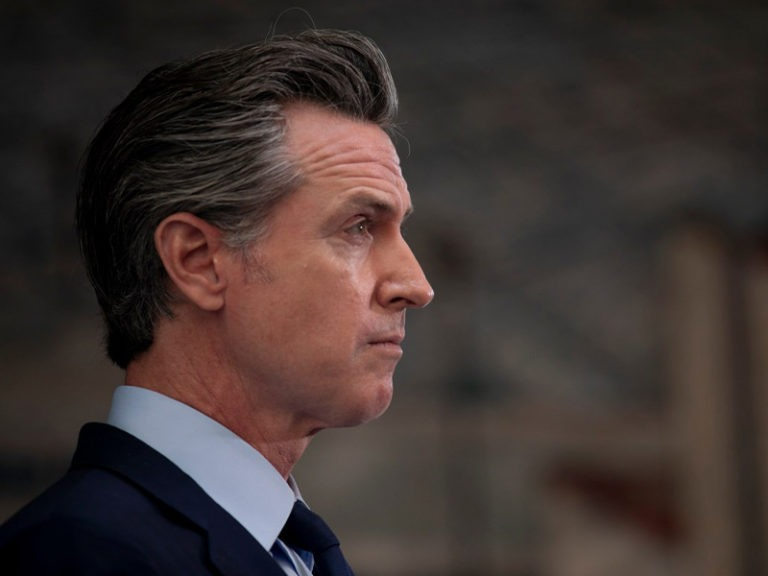 Liberal Extremist Goes on Stabbing Spree at Recall Newsom Rally, Fractured Skull Reported