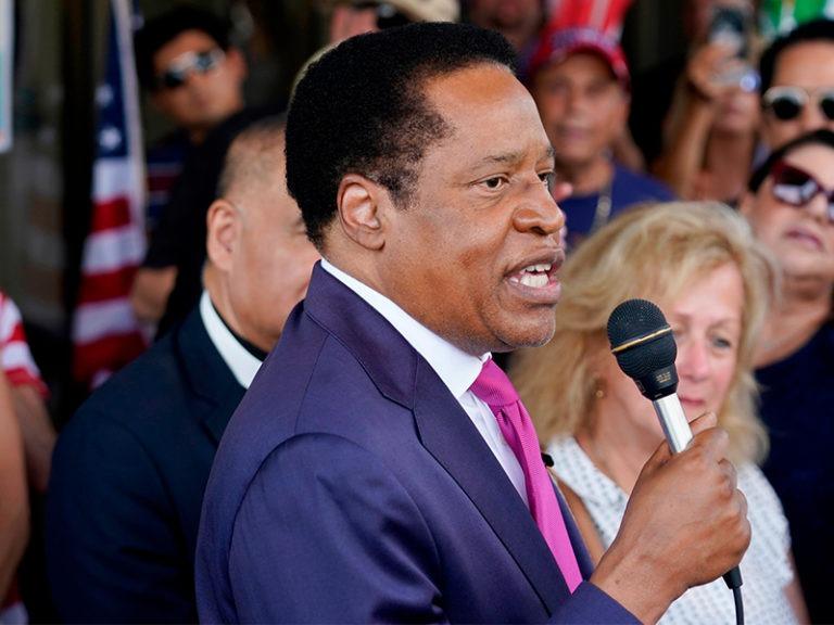 Radio host Larry Elder files lawsuit over California ballot