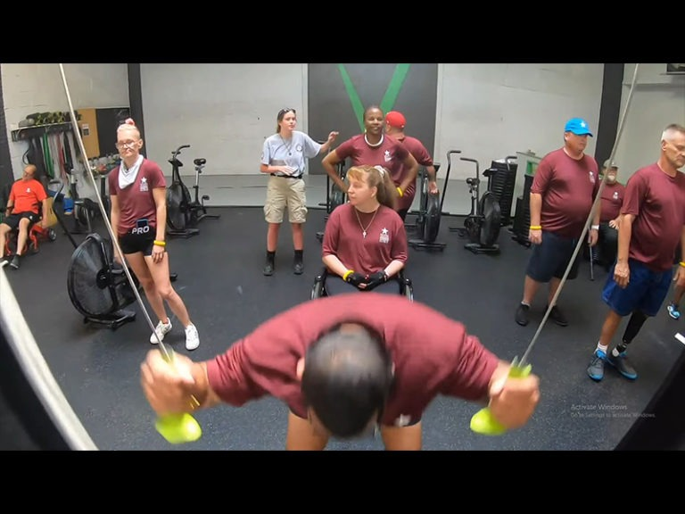 Veterans experience adaptive sports and fitness instruction at National Veterans Summer Sports Clinic