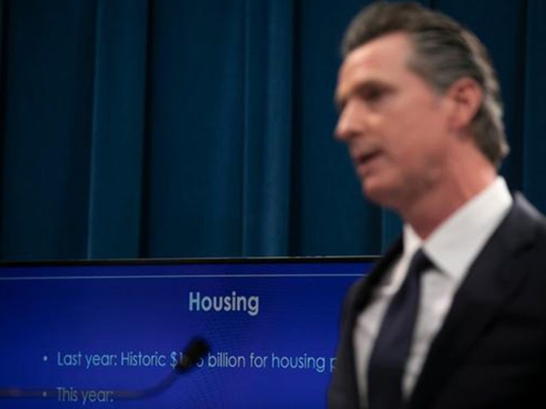 Victorious in recall, Newsom refocuses on California housing crisis