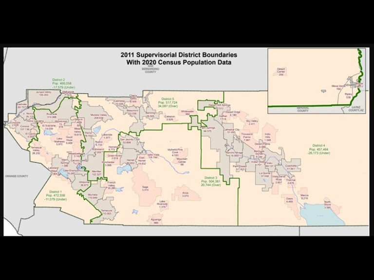 Redistricting Process for County Supervisorial Districts Begins Tuesday