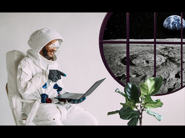 A Man From California Sold Real-Estate On The Moon
