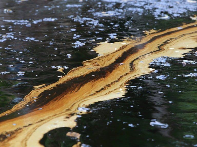Company suspected in oil spill had dozens of violations